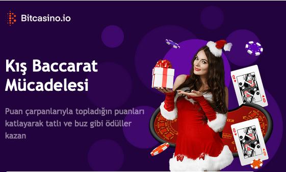 15 Aralık'a kadar belirtilen Baccarat oyunlarını oyna ve ek puanlar kazan. Ne kadar puan toplarsan tablodaki sıralaman o kadar yükselir.   Şimdi kazanmaya başla:   #canlıcasino #casino #bonus #freespin #onlinecasino #poker #rulet #jackpot #videslot #slot