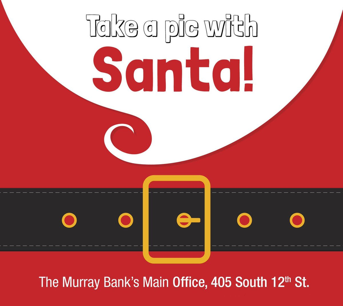 - The Murray Bank Main Office  - 3:30 pm - 5 pm  - TODAY  - All Offices All Day!  - FREE PICTURES <br>http://pic.twitter.com/pYk7DOICUy