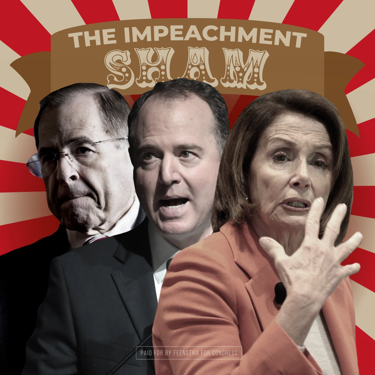 Cong Steve King was no where to be found in today's Judiciary Comm for the impeachment sham. Why? His bizarre actions got him kicked off his committees. King failed @realDonaldTrump and has left Iowans without a voice. It's time for new effective conservative leadership. #ia04