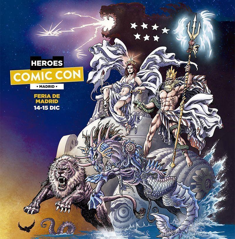 ¡Nos vemos en las @Heroes_ComicCon ! Estaremos jugando #Godzilla, El Anillo de los Nibelungos, #Alien Perfect Organism y #Kluster.¿ #Jugamos?🌐 Más información en: https://www.heroescomicconmadrid.com/#GenXGames #Boardgames #JuegosDeMesa