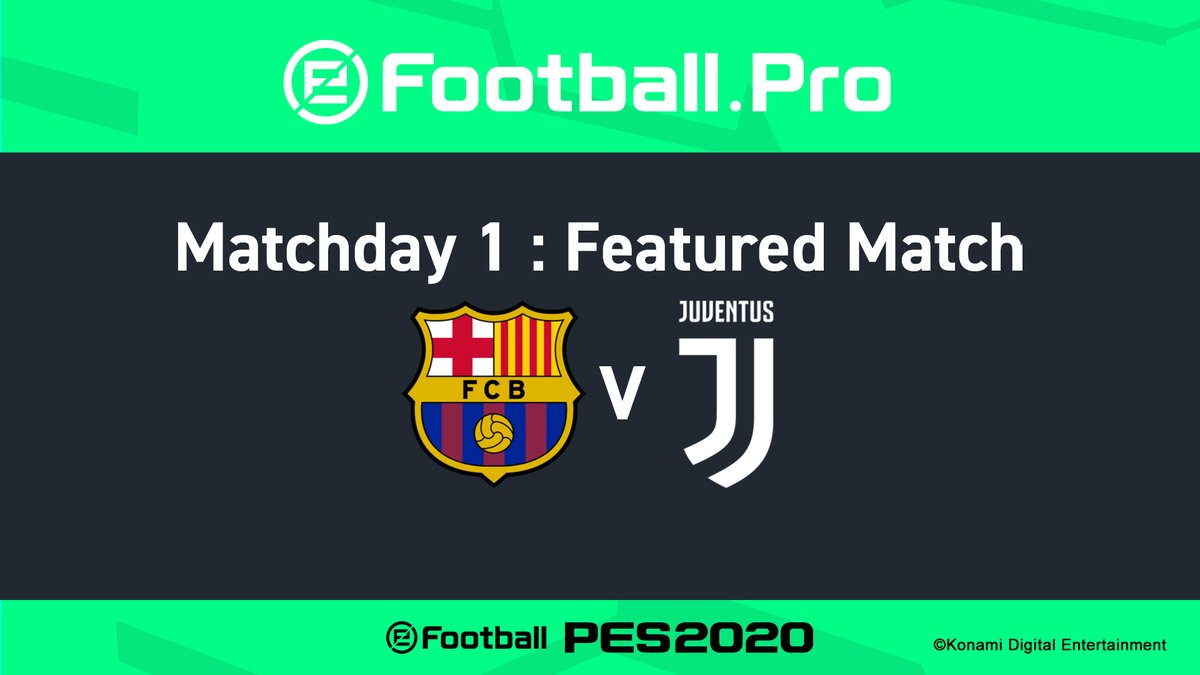 Tomorrow, we kick off our @Konami, @officialpes @eFootballPro League against Barcelona 🎮   🔴📹 Watch it LIVE from 16:15 CET on http://YouTube.com/Juventus