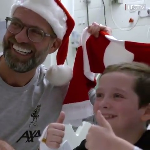 9-year-old Kai got quite the surprise from Jurgen Klopp and Liverpool ❤️  (via @LFC)