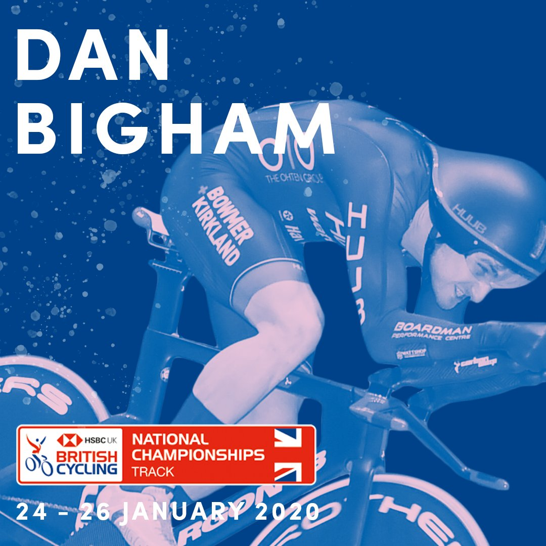 A #Yorkshire2019 medallist on the road earlier this year, @DanBiggles22 will turn his attention to retaining the team pursuit title with @HuubWattbike at the @HSBC_UK | National Track Championships 🇬🇧  24-26 Jan 🗓  Tickets 🎟