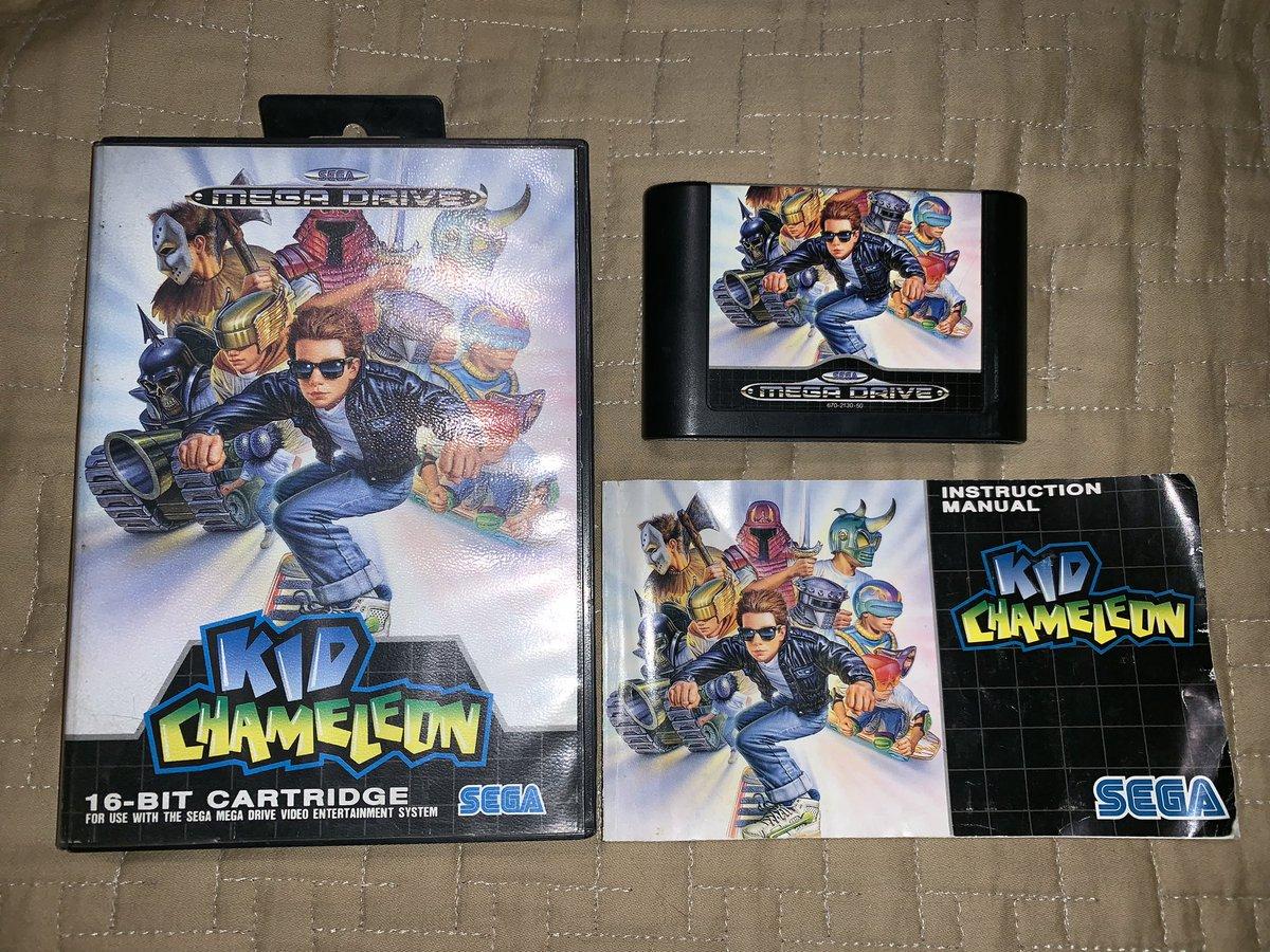Kid Chameleon // #MegaDrive // Pal Europa 1992 // Plataformas - Acción // #micoleccion #RetroGames #juegosretro #videojuegos #videojuegosretro #retrovideogames #retrogaming #Sega #Genesis #16Bit #InstaGamerSpain #Retrocollectivepic.twitter.com/g6s8U0uzTj
