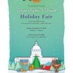 Image for the Tweet beginning: Mayor @LondonBreed's Holiday Fair returns