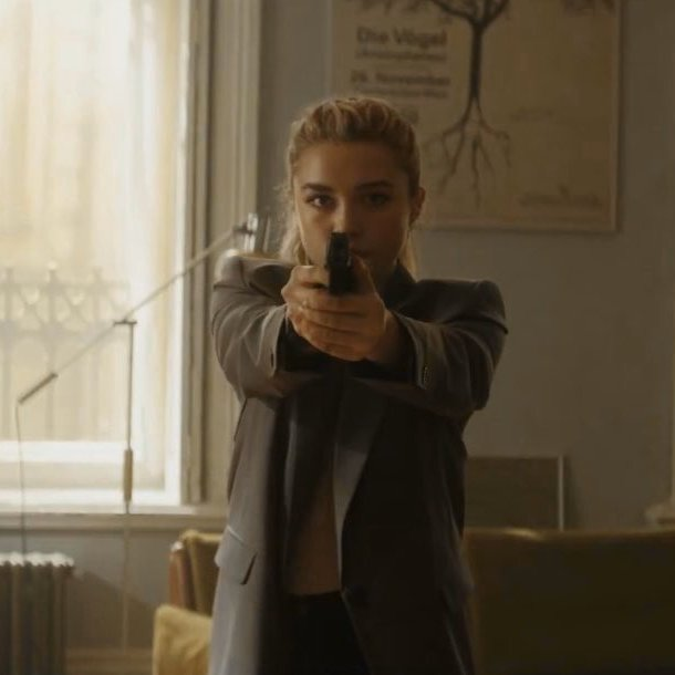 Florence Pugh says Yelena Belova will not take the #BlackWidow title from Natasha in the film — No... I am saying it very honestly, it certainly didn't feel like a passing of the torch kind of film (via @UPROXX | bit.ly/2RNfrOE)