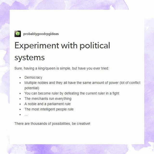 A small selection of potential governments. Some real, some imaginary, some reasonable ideas, some not so much...---•tags• #writing #writer #fiction #author #writermemes #aspiringauthor #tumblr #writingcommunity #writerlife #fictionwriting #wip #books #authors #writersbl…