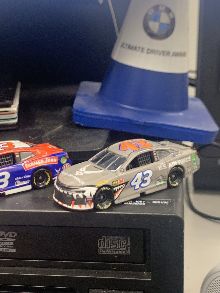 @NASCARonNBC @CoreyLaJoie @BubbaWallace @BubbaWallace!