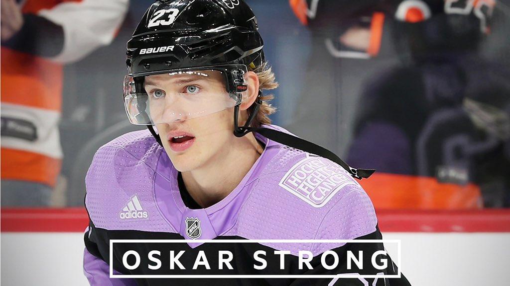 Together we are #OskarStrong. 💜