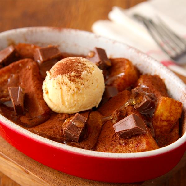 レンジで【濃厚ラミーフレンチトースト】5分ちょいでカフェみたいな味が超簡単に作れます