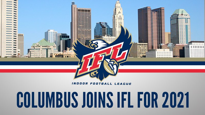 The IFL is proud to announce the addition and partnership of the leagues newest member to be based in Columbus, OH starting in 2021! bit.ly/2LMSTtB