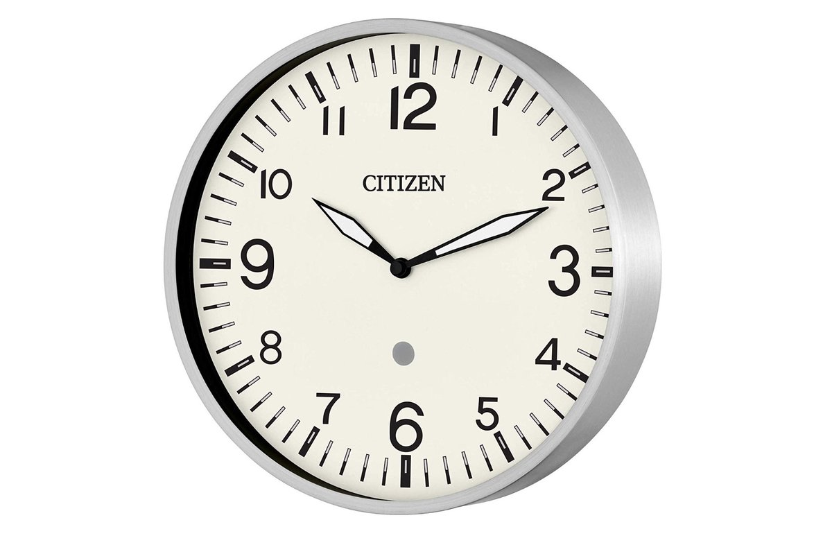 Amazon teams up with Citizen for a classier looking Echo wall clock