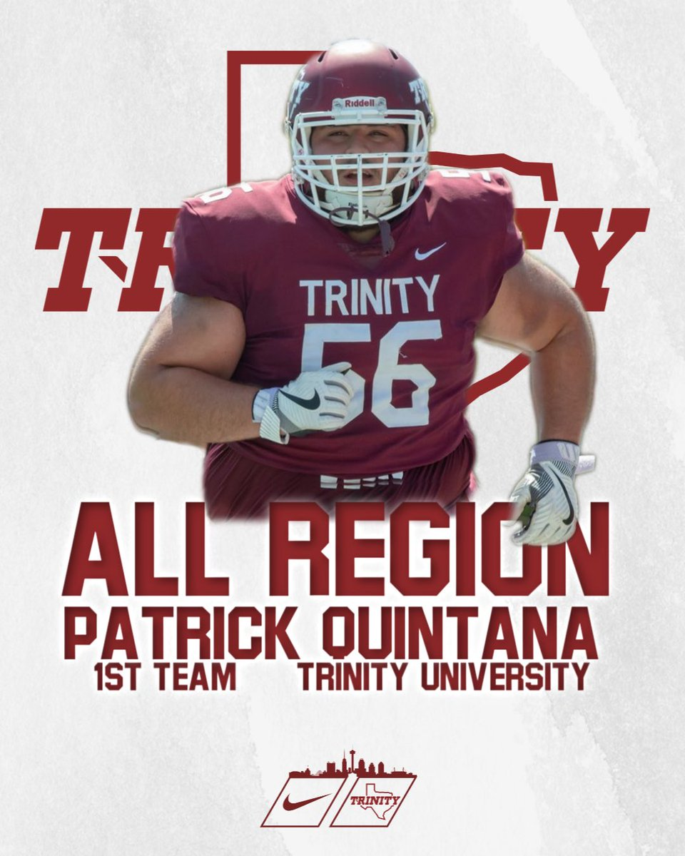 Congrats to @PatQuintana1 for being named 1st team ALL REGION!!! #BeTheStandard