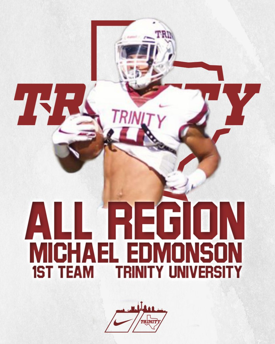 Congrats to @mikeedmon for being named 1st team ALL REGION!!! #BeTheStandard