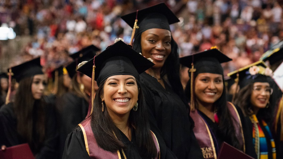 Texas State On Twitter Our Next Commencement Ceremony Will Feature Bobcats From The Following Colleges University College The Graduate College College Of Applied Arts Know Someone Who Is About To
