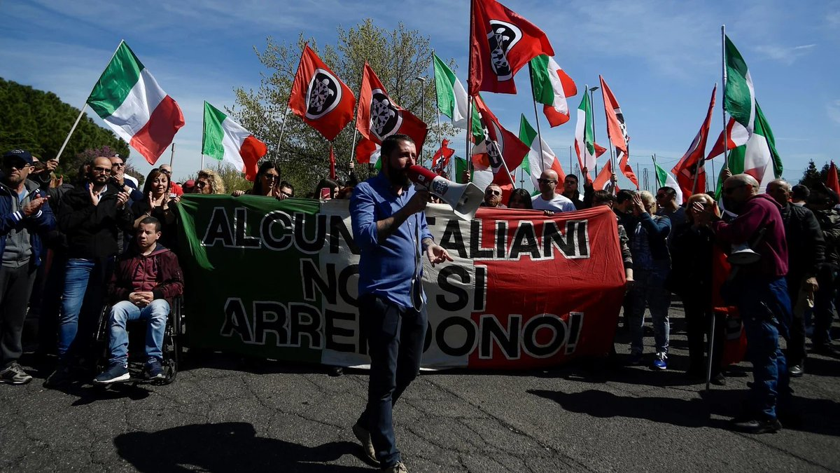 Italian court orders Facebook to restore neo-fascist party's