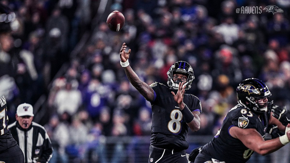 Replying to @Ravens: A milestone night.  All the records set on TNF.  📰: