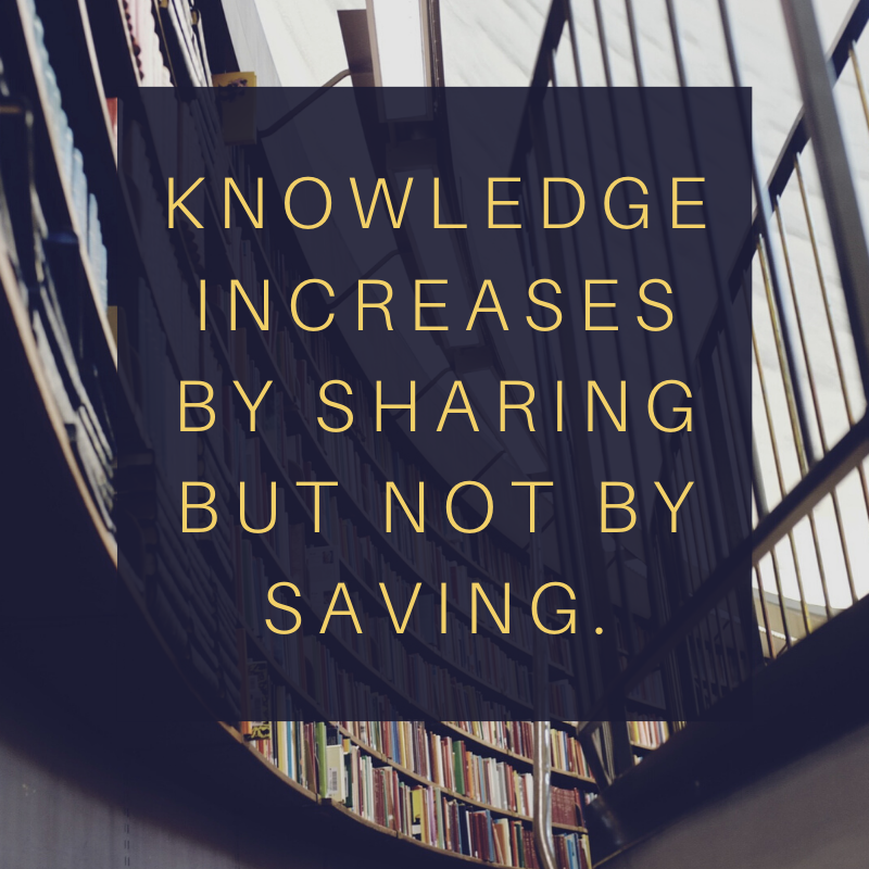 Knowledge increases by sharing but not by saving. #knowledgeispower #knowledgeofself #knowledgeiskeypic.twitter.com/0BbGOuxLOO