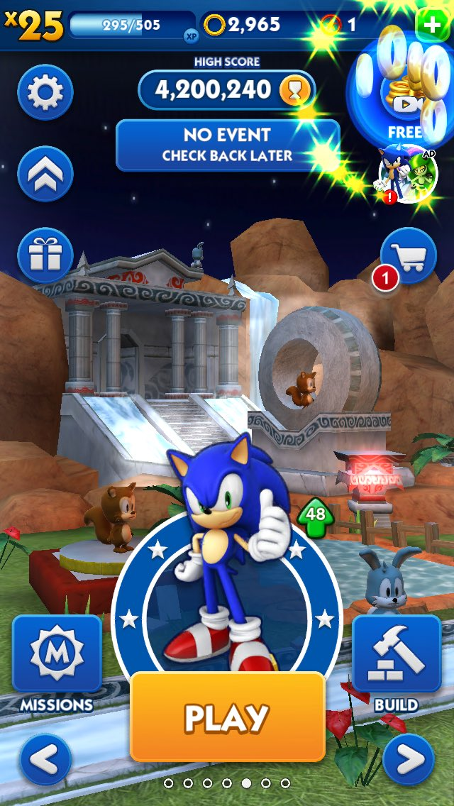 Sega Hardlight On Twitter Dash Ing Through The Snow It S The World S Fastest And Cutest Delivery Boy Elf Classic Sonic Unlock Him For Free In Sonicdash Https T Co 2l2xc2noaq