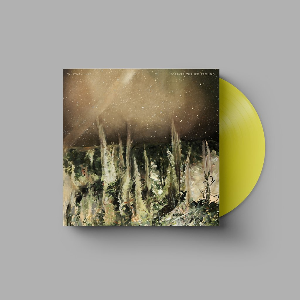 🌀 Yellow Forever Turned Around #vinyl now available in the online store: whitneyband.live/merch