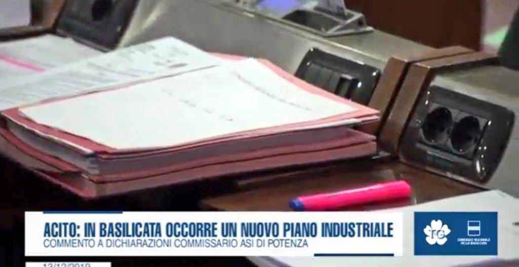 """Vincenzo Acito: """"In #Basilicata occorre un nuovo p..."""