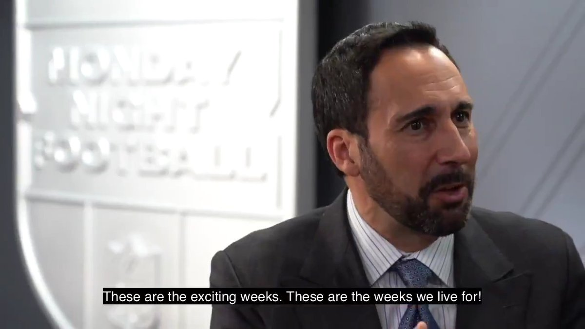 """.@JoeTessESPN says: """"These are the weeks we live for!""""  Tonight he's calling @trboxing's #CrawfordMachine title fight at @TheGarden 🥊 before flying to #NOLA early Sunday to call #MNF when Drew Brees attempts to set another NFL record 🏈"""