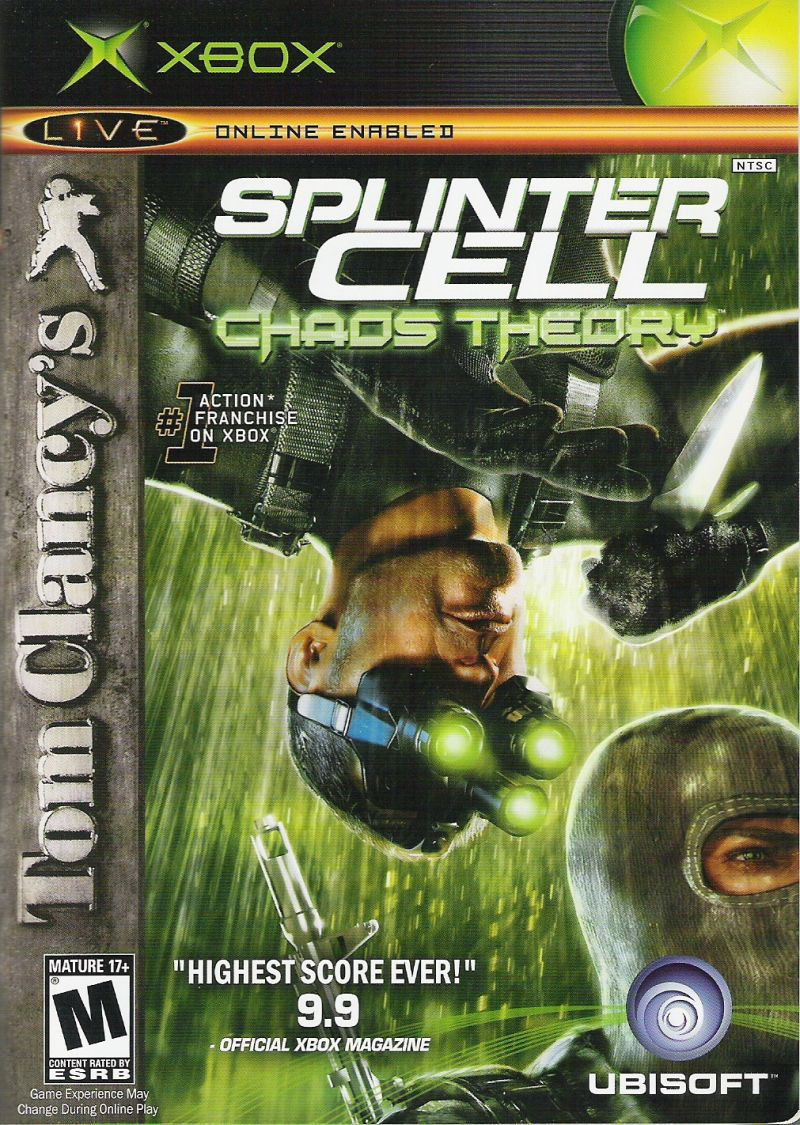 Brett Ubicentral On Twitter Here Are The Highest Rated Ubisoft Games On Metacritic Splinter Cell Chaos Theory 94 100 Splinter Cell Pandora Tomorrow 93 100 Splinter Cell 93 100 Prince Of
