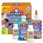 Image for the Tweet beginning: Elmer spooky glitter slime kit