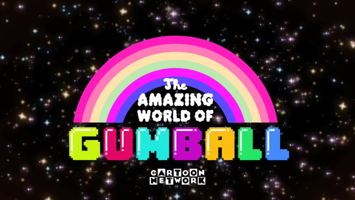 3. The Amazing World of Gumball (2011-2019; 120 half-hours)  Created by: Ben Bocquelet  Starring the voices of: Logan Grove, Kwesi Boakye, Kyla Rae Kowalewski, Teresa Gallagher, Dan Russell, and more  #Gumball