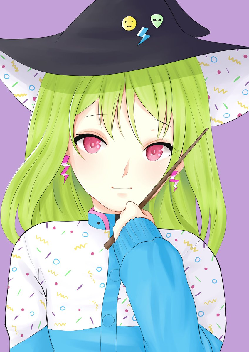 Gwen is going to enchant youuuuuu or blow everything up... who knows     Still no #dokomi confirmation #gwen #anime #manga #art #animeart #mangaart #kawaiiart #witch #witchart #cuteart pic.twitter.com/CGrKhvjLOg