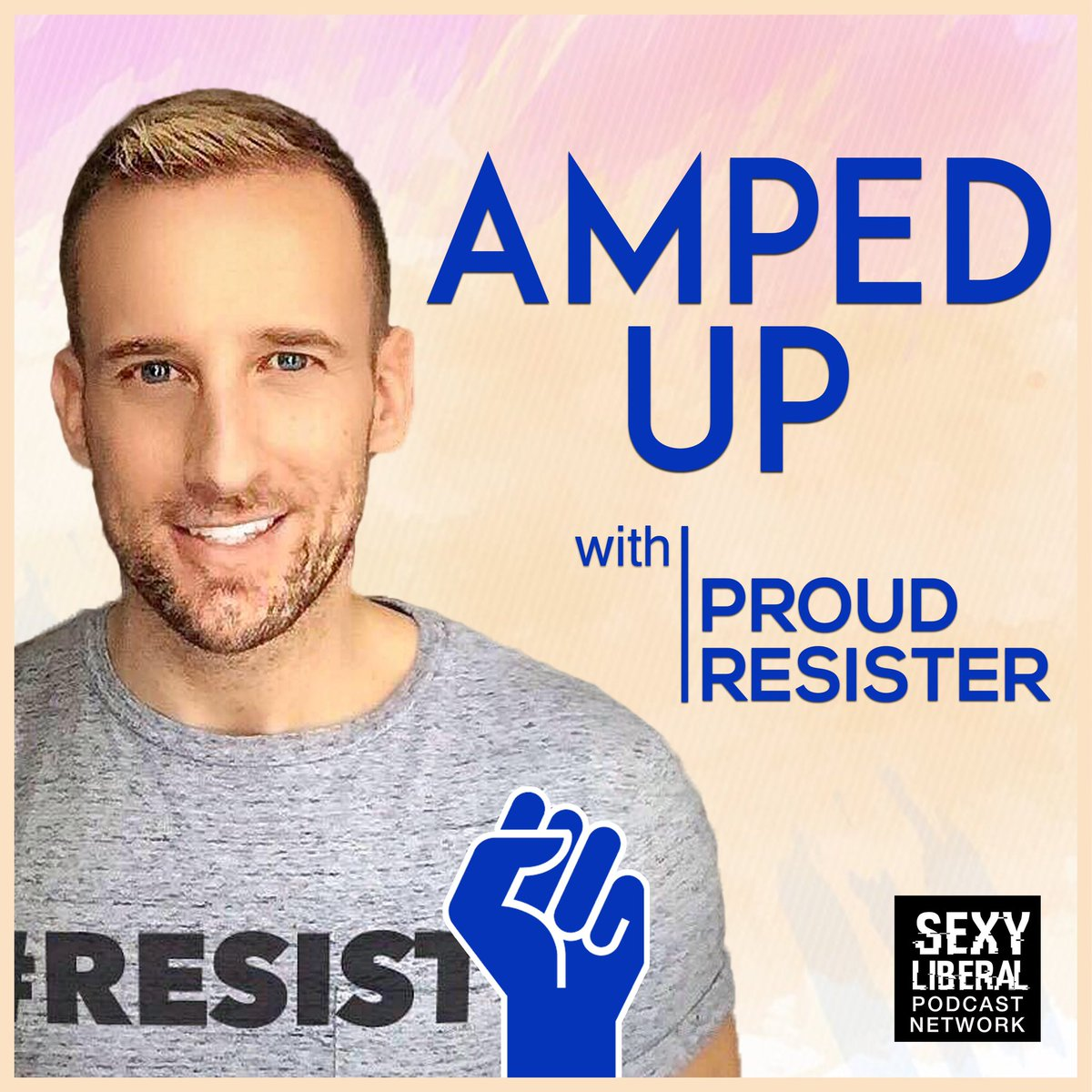 On this week's #AmpedUp podcast, I chat with @ECMcLaughlin about overcoming fear and winning the fight for bold progressive change in America.   Listen for free on @ApplePodcasts or at http://Bit.ly/AmpedUpPodcast. Support the podcast at http://Patreon.com/ProudResister.