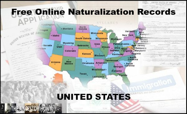 Just Completed - Links to 2,940 Free Online Naturalization Records Collections from all 50 United States! An often underutilized information source, Naturalization Records are chock full of very useful genealogical information. Check it out!  https://t.co/BpTotOkuDR #genealogy https://t.co/GFFkmFUVPK