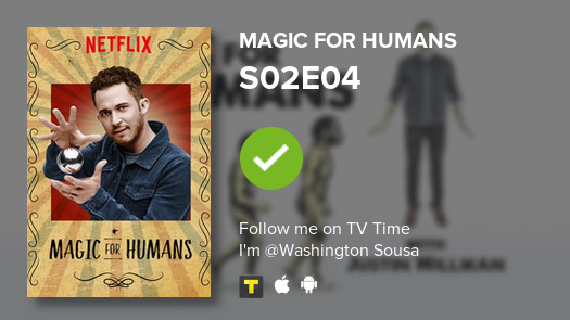 I've just watched episode S02E04 of Magic for Humans! #magicforhumans  #tvtime  https:// tvtime.com/r/1f5Tl     <br>http://pic.twitter.com/EaxYKlB6cS