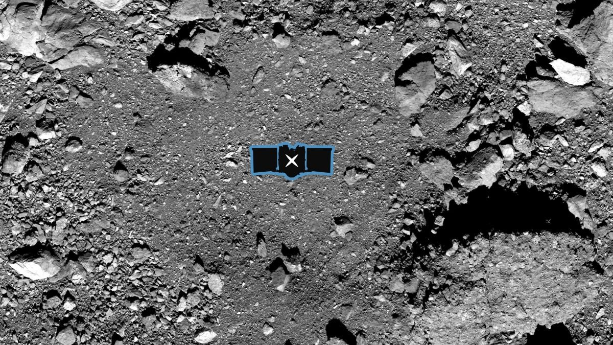 OSIRIS-REx team will boop this spot on asteroid Bennu