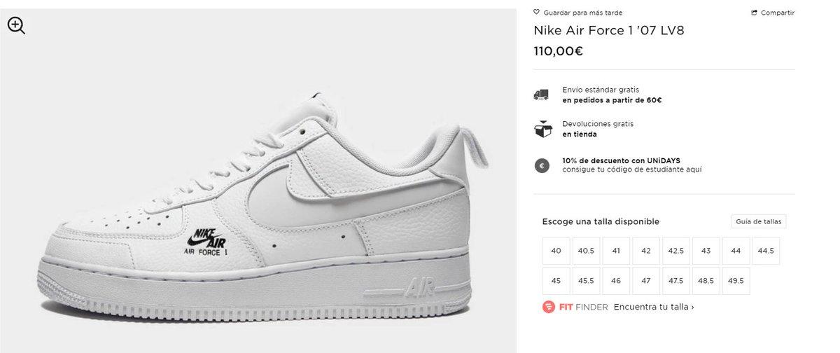 JD Sports EU: Nike Air Force