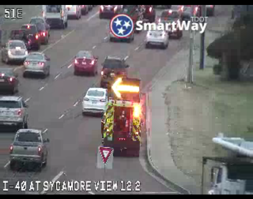 #MEMPHIS - Stall at the bottom of the ramp from WB 40 to Sycamore View. https://t.co/cR4AW17rT4