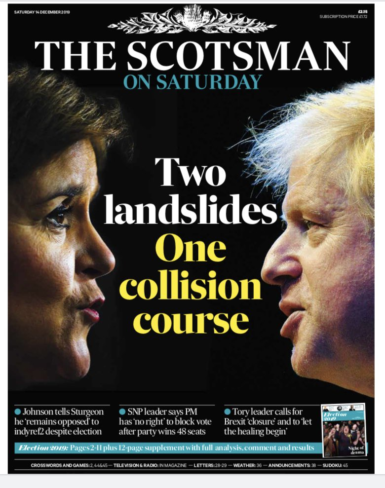 First look at tomorrow's @TheScotsman front page #buyapaper