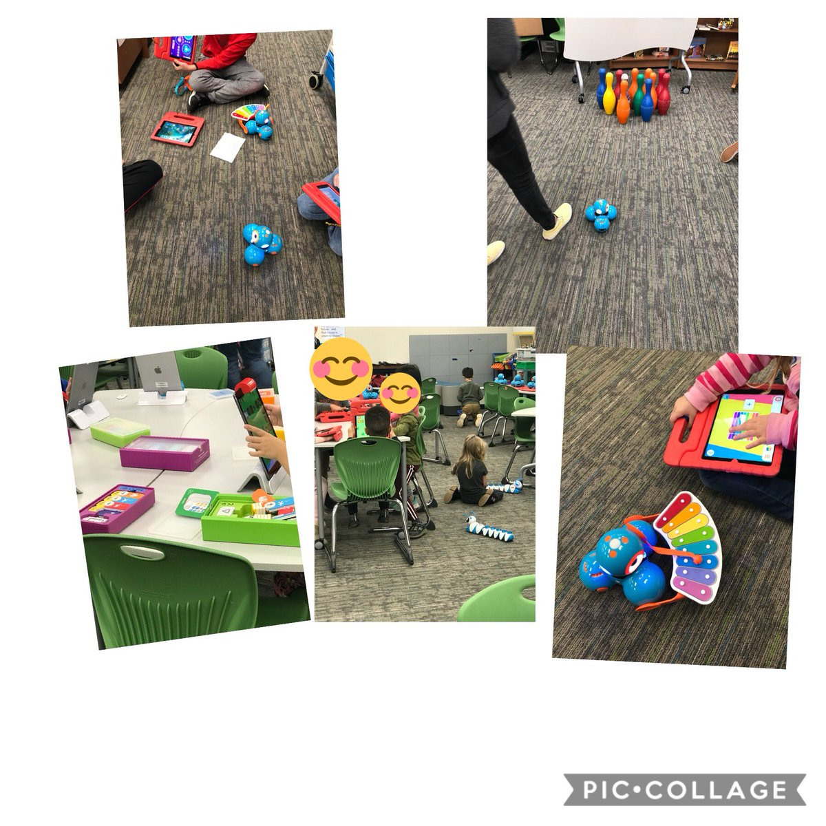 Scenes from Coding Week @pondspringslib A treat to work with Mrs. Shipp in these fun activities. #LibrariesRRock https://t.co/52IoyHes19