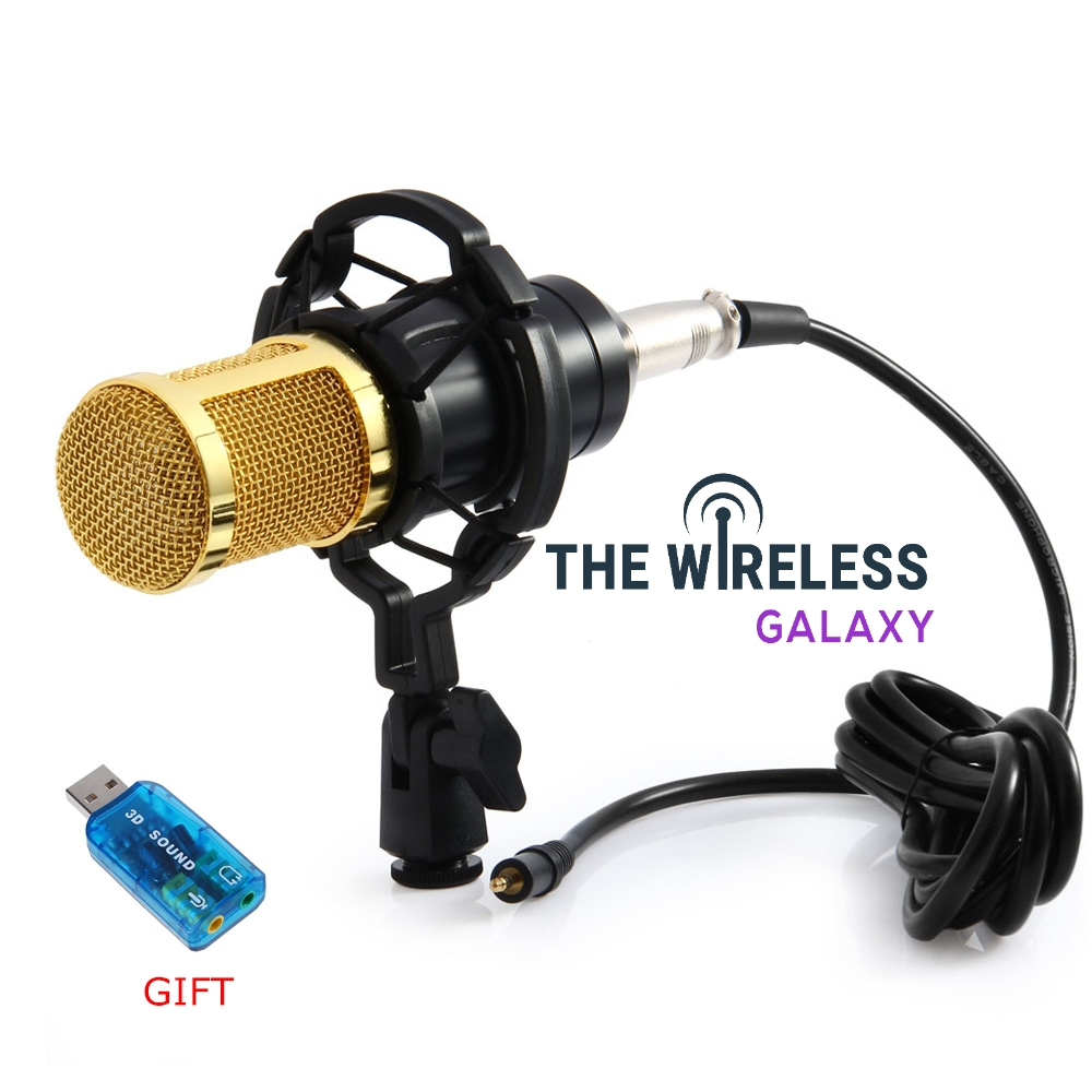 Wired Condenser Sound Microphone With Shock Mount For Broadcasting.  https://thewirelessgalaxy.com/product/wired-condenser-sound-microphone-with-shock-mount-for-broadcasting/….  43.64.#technologywitch pic.twitter.com/RkY7UeA1Sw