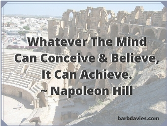 Whatever the mind can conceive and believe, it can achieve. - Napoleon Hill #personaldevelopment <br>http://pic.twitter.com/tj9QTkfiIl