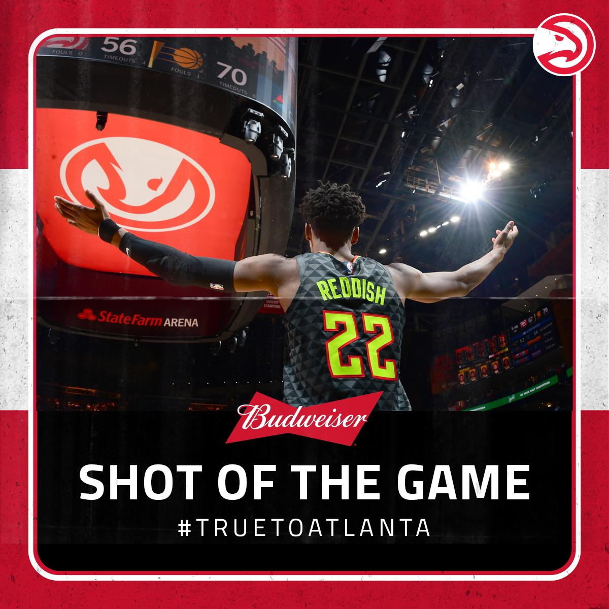 📸 Shot of the Game 📸  #TrueToAtlanta | @budweiserusa