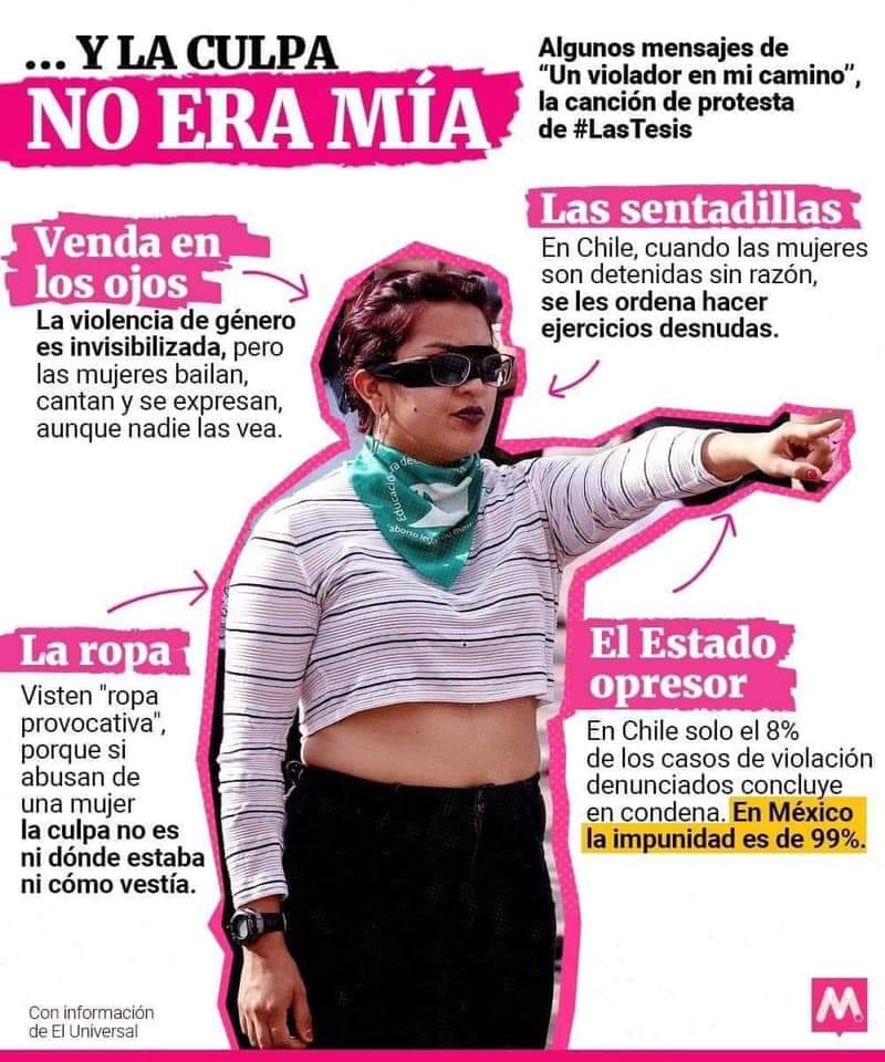 #UnVioladorEnTuCamino