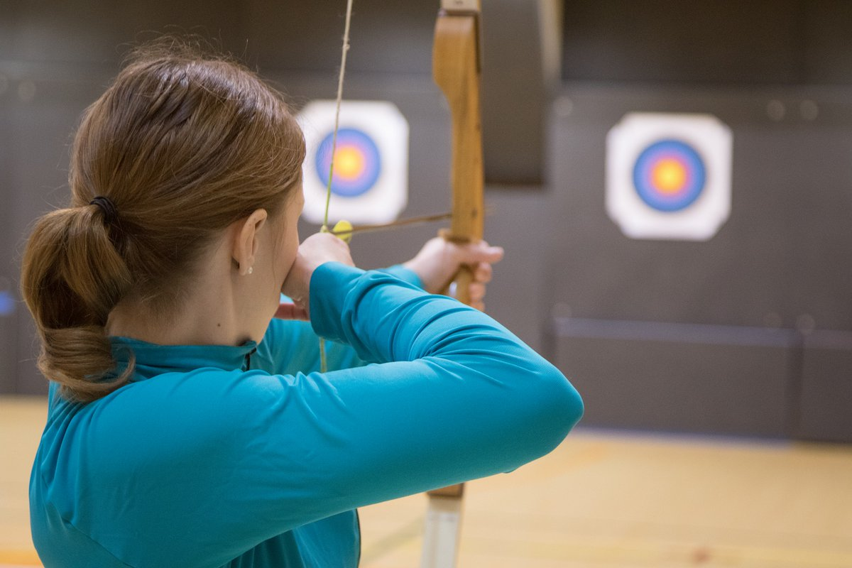 Maybe archery is something you'd like to get the whole family into, too. We're pretty confident your kids are going to love it. At @EasthillOutdoor in Orono, you can create some unique family memories. #VisitYDH #archery #axethrowing #gunrange https://easthilloutdoors.com/pic.twitter.com/2gBubyfLaV