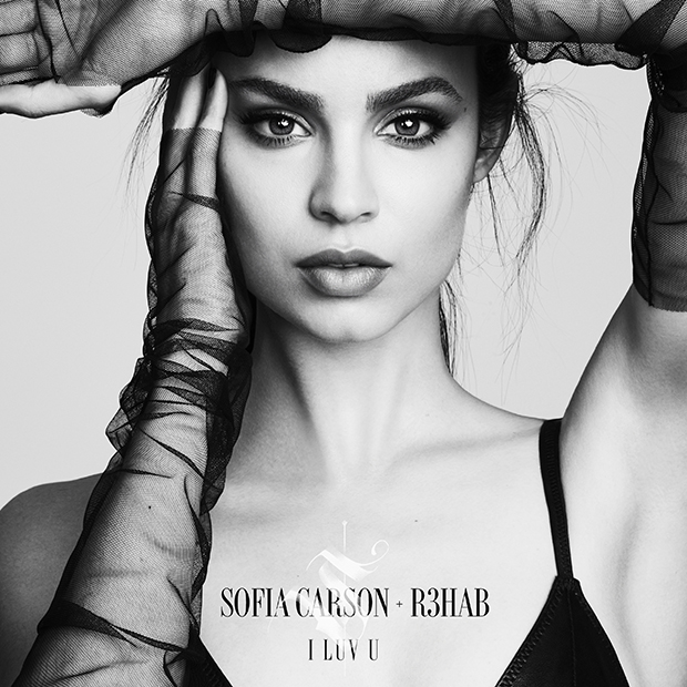 """.@SofiaCarson is head over heels for someone who doesn't feel the same on the @R3HAB-assisted """"I Luv U"""":"""