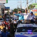 Image for the Tweet beginning: Exitoso recorrido | caravana por