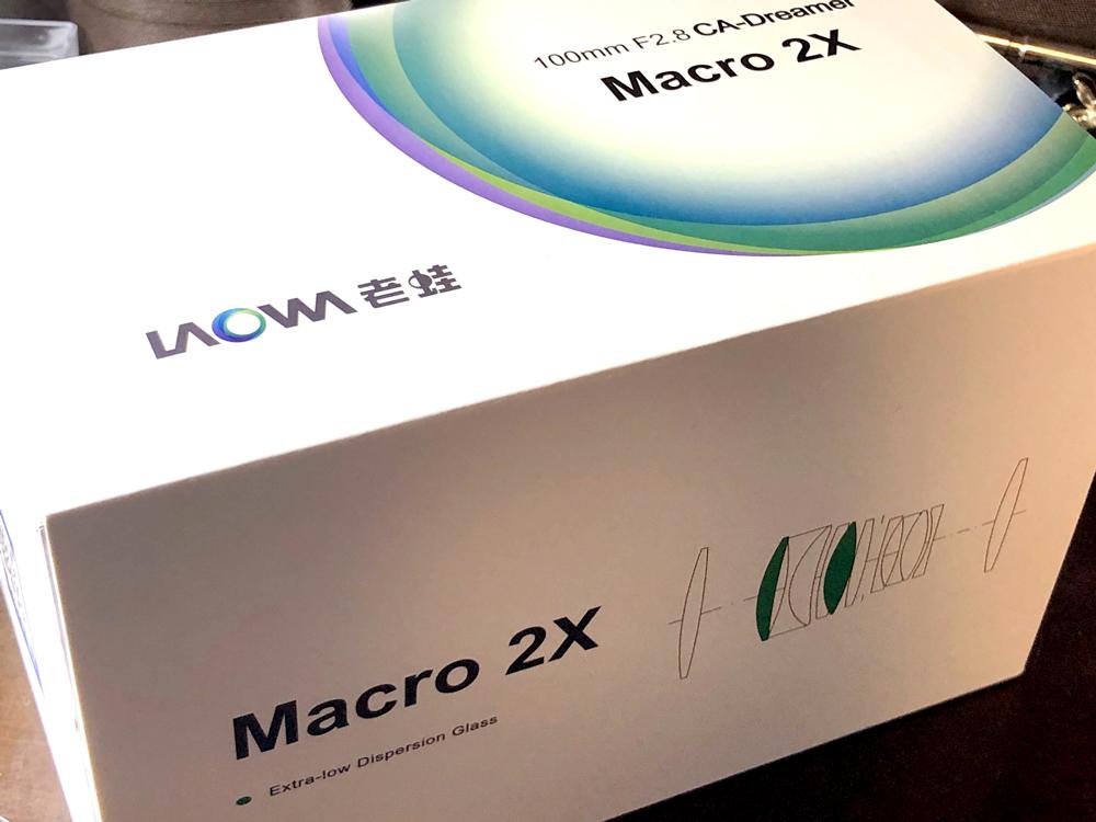 いろいろ個性的なレンズを作っているLAOWA。4年ほど前からLAOWA 15mm F4を使用していて今でもお気に入りのレンズです。新しく購入したLAOWA 100mm F2.8 2X Ultra Macro APO。↓ブログに載せました。