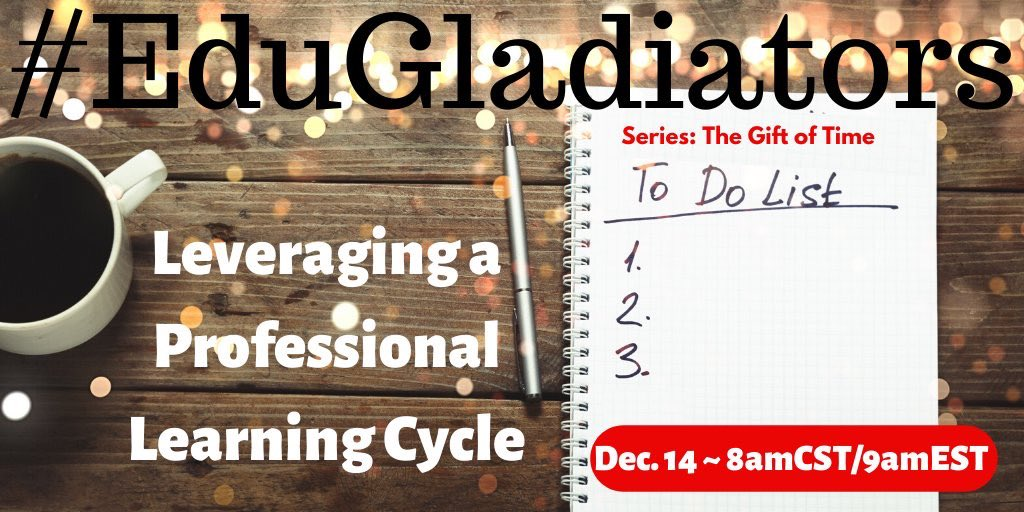 Hey friends! Want to value Ts time & have more effective PD? Then don't miss #EduGladiators tomorrow! See you in the arena!  #engagechat #ASCDCEL @mpilakow @ProfeFandy @cpoole27 @RosaIsiah @KylieSibley16 @KealakeheInter @principal_lane @latoyadixon5 @Latimer1Kristi @EdTechMaker<br>http://pic.twitter.com/W4e1HE4XAF
