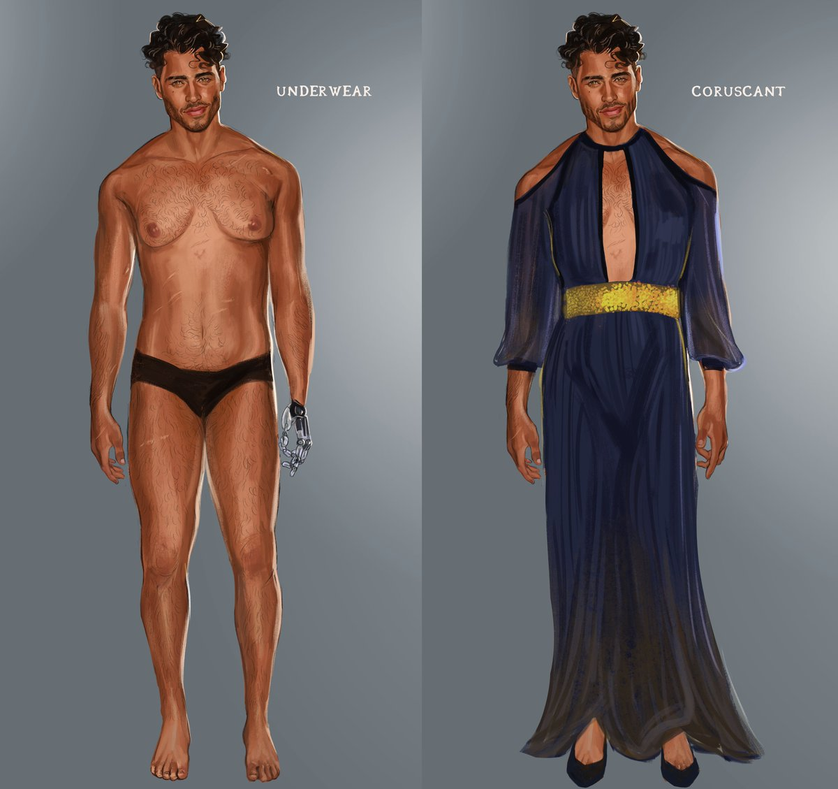 Some outfits for my OC Victorian. The last one is mandalorian inspired :) <br>http://pic.twitter.com/aez4KYTyAl