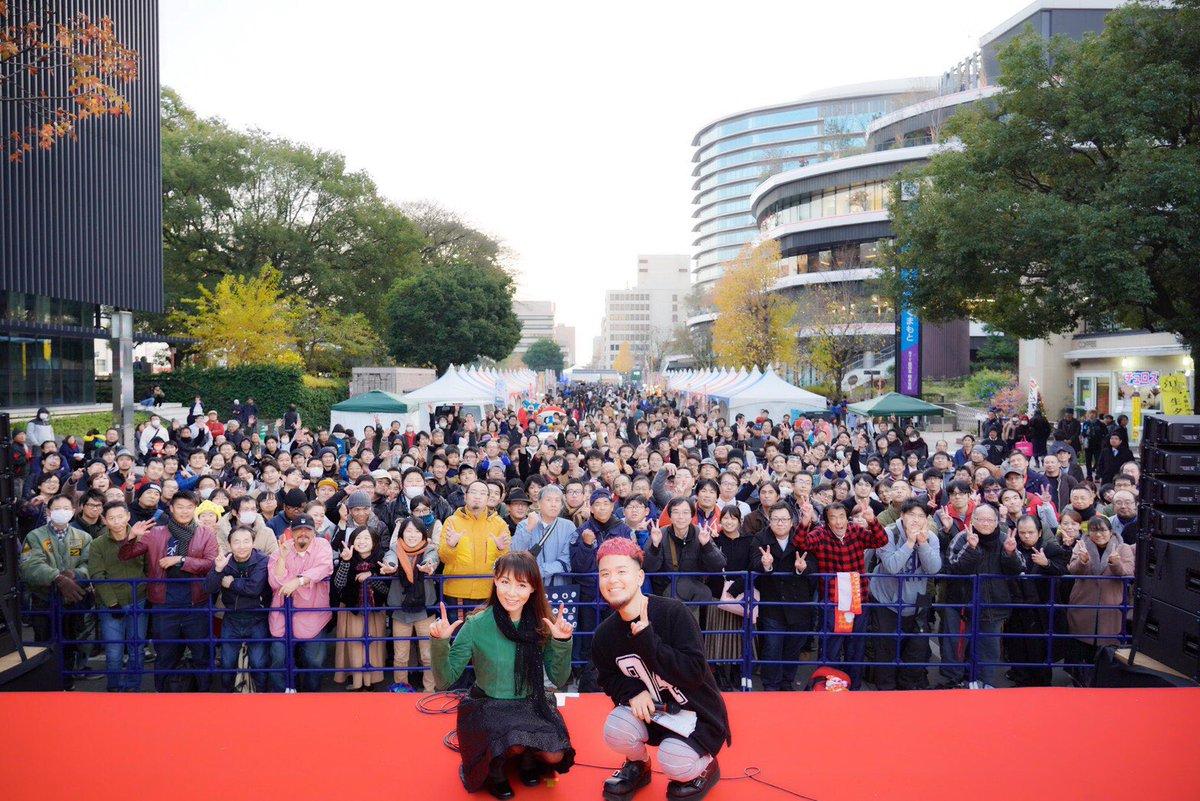 🎶くまフェス2019😊👍盛り上がりましたね〜‼️寒い中、熊本の皆さん💕ありがとうございました😘また熊本に行かせてくださいね〜✨ブログ更新しました^_^#くまフェス#熊本#アニソン#まさる#鮎川麻弥