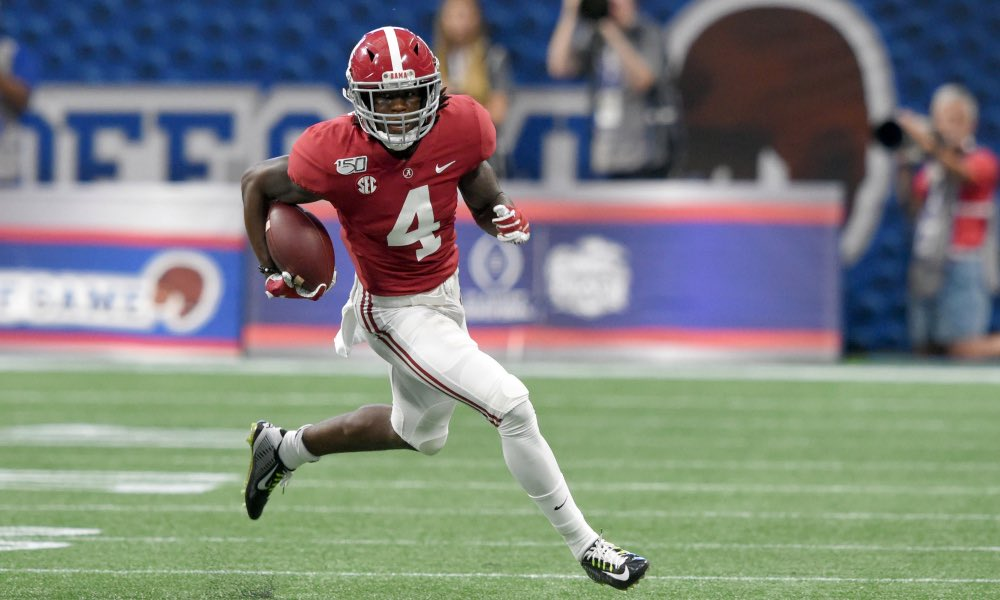 Alabama WR and projected 1st round pick, Jerry Jeudy, says he will play in the teams bowl game vs Michigan. <br>http://pic.twitter.com/Wa2uWiJIZv